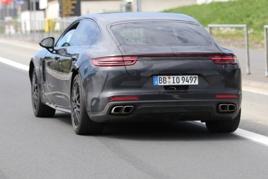 Panamera Muletto für Bentley
