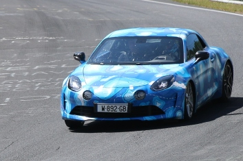Renault Alpine prototype 1080 Kg