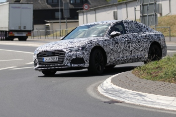 Audi A6 prototype