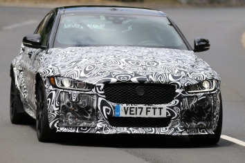 Jaguar XE SV Project 8 prototype