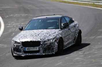 Jaguar XE SV Project 8 prototype 600 PS