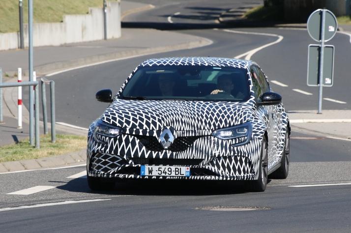 Renault Megane RS prototype