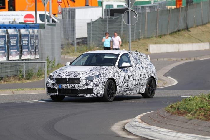 BMW 1er Frontantrieb prototype
