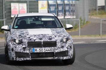 BMW neuer 1er prototype