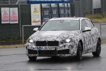 BMW 1er ( 2018 ) prototype