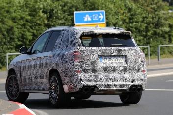 BMW X5 M prototype