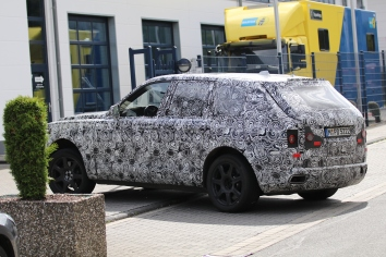 Rolls-Royce Cullinan prototype