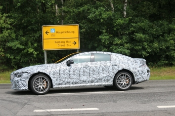 Mercedes AMG GT Coupe prototype