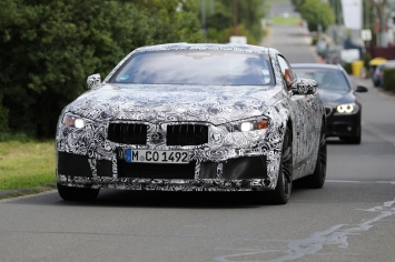 BMW M8 Coupe 2019 Impressionen Nurburgring