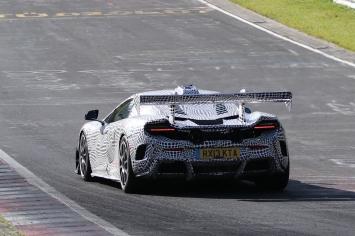 McLaren 675 LT prototype