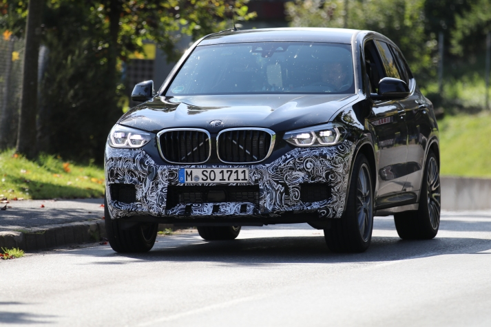 BMW X3 m prototype