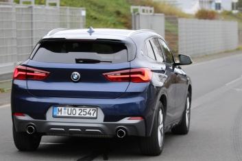 BMW X2 ungetarnt