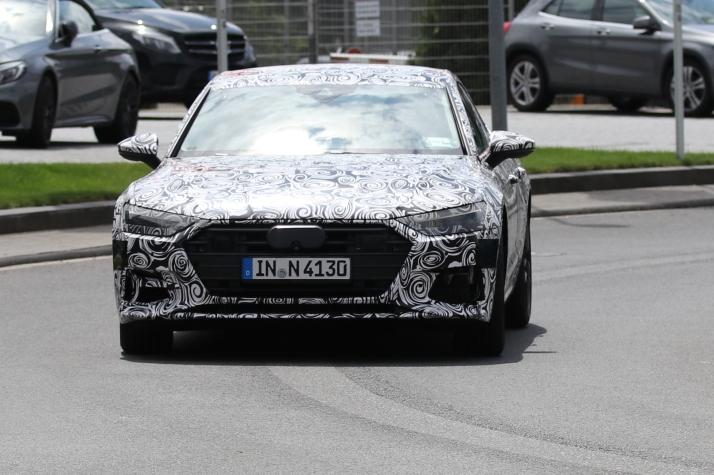 Audi A 7 prototype