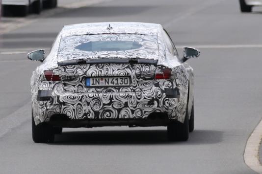 Audi A7 prototype