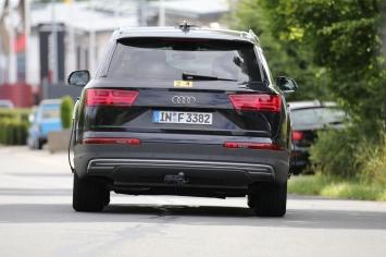 Audi Q7 electro prototype
