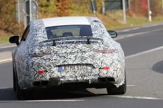 Mercedes AMG GT4 prototype