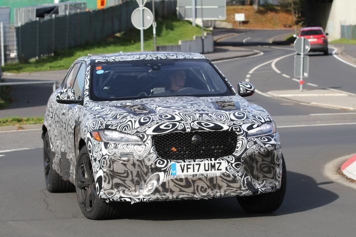 Jaguar F-Pace SVR 2017