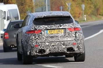 Jaguar F - Pace SVR 2017