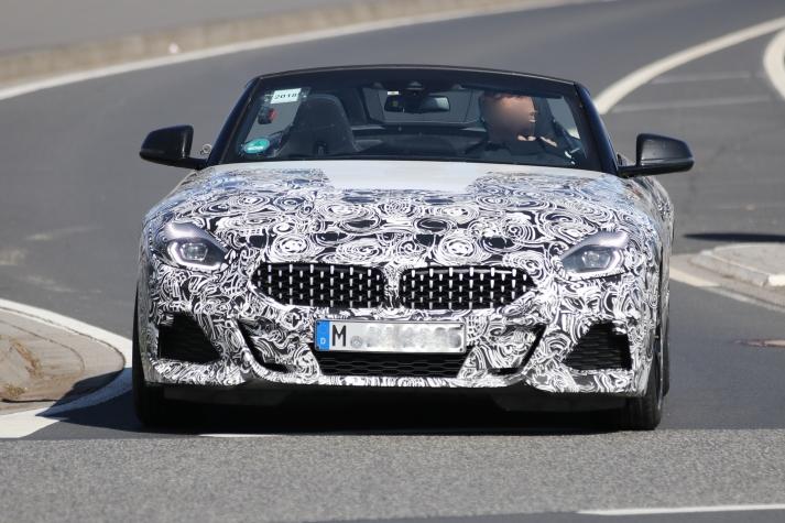BMW Z4 endlich mal ohne Dach