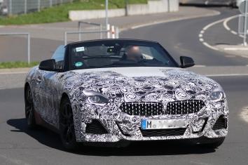 BMW Z4 offen