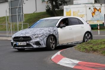 Mercedes A MG Klasse