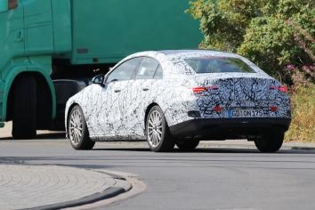 Mercedes CLA prototype
