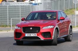 Jaguar F-Pace SVR prototype