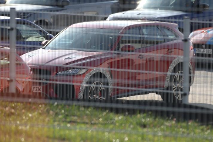 Jaguar F - Pace SVR prototype