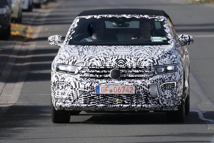 VW T - Roc Cabrio