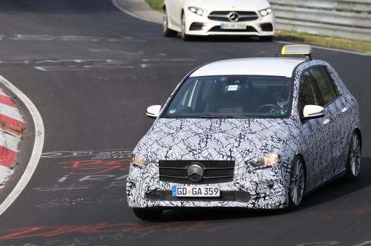 Mercedes B- Klasse Taxi im Test....