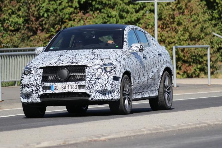 Mercedes GLE Coupe prototype